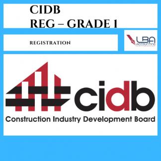 LBA CIDB Reg grade 1