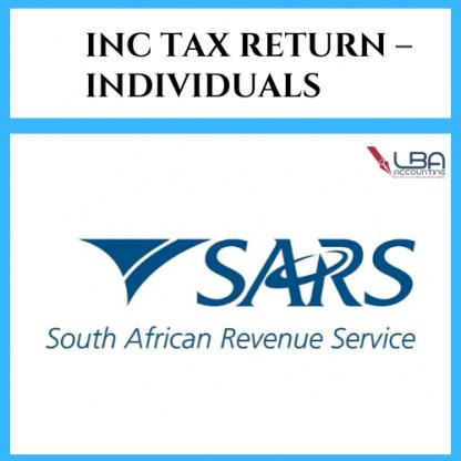 LBA Individuals income tax return