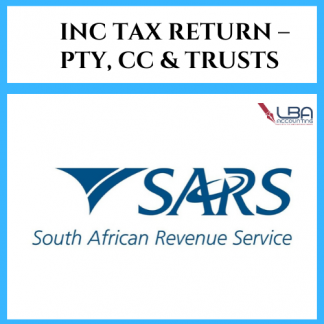 LBA Company tax return