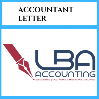 LBA Accountant letter
