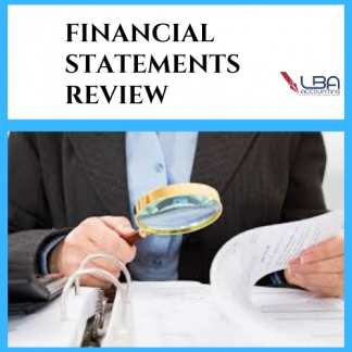 LBA Financial statements review